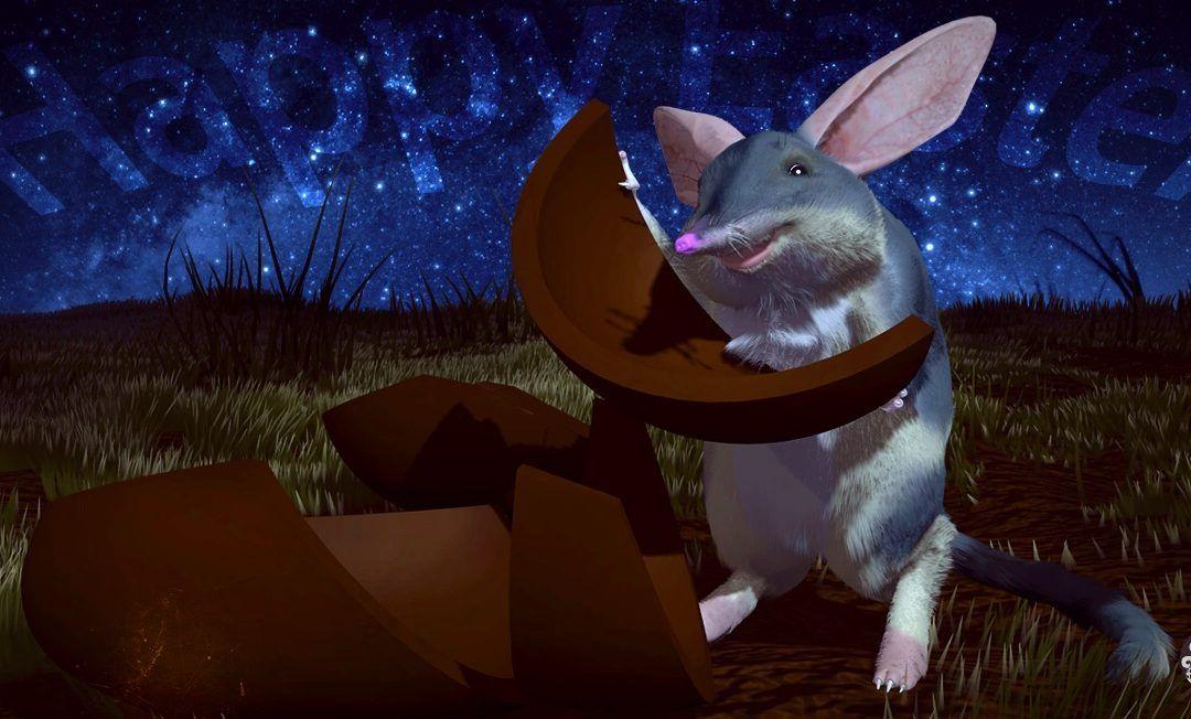 Bilbo, the Easter bilby