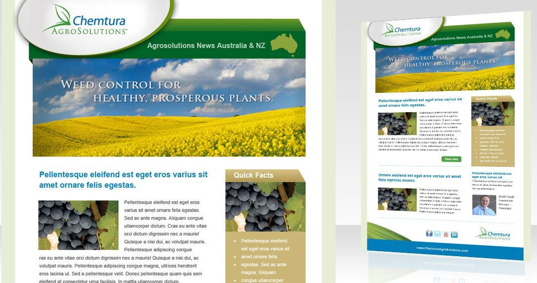 Chemtura AgroSolutions email template