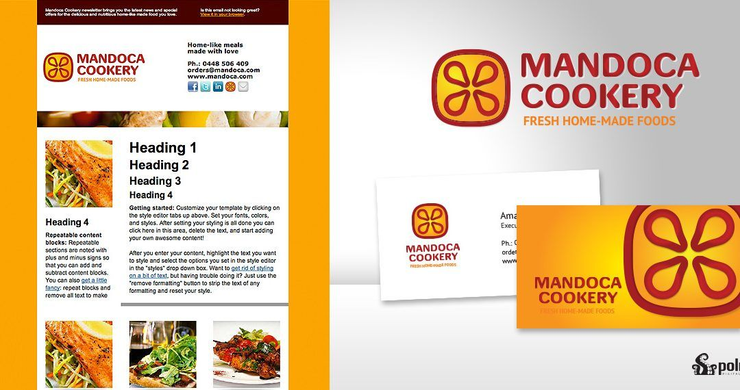 Mandoca Cookery Visual ID