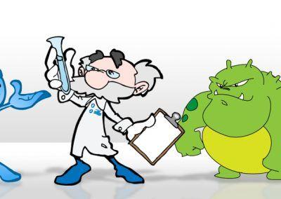 BioLab H2Know Training Mascots