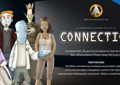 Leadership Academy awareness activity: Connection