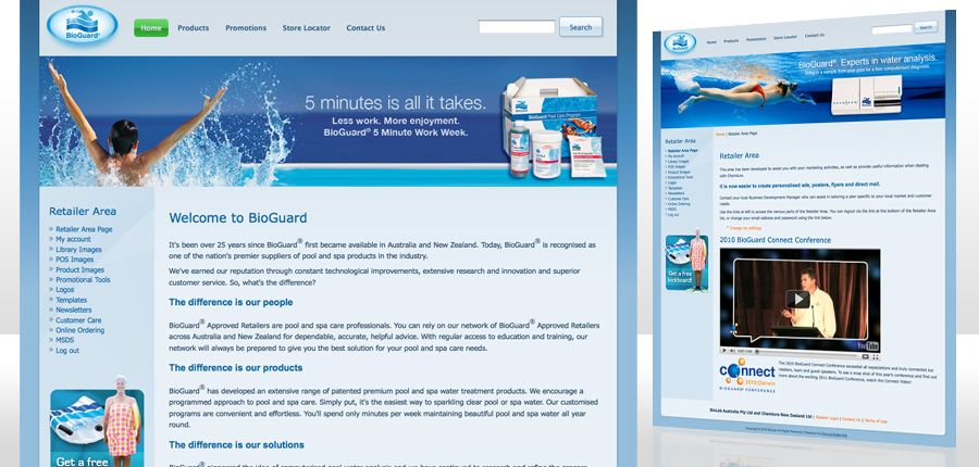 BioGuard Australia website