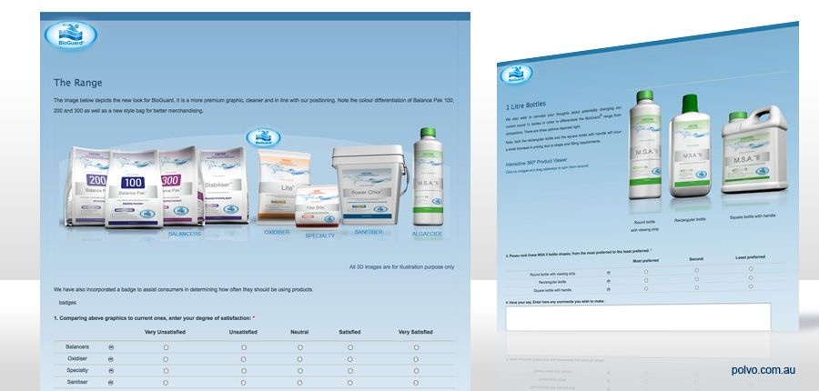 BioGuard products online survey