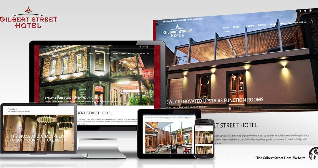 Gilbert Street Hotel website