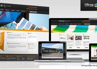 SA Design & Print Online Business
