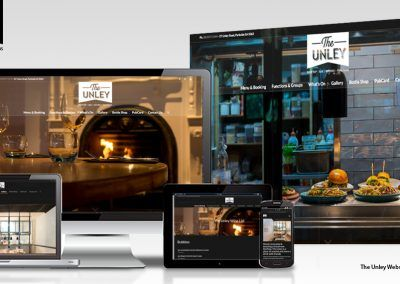 The Unley Website + Photography