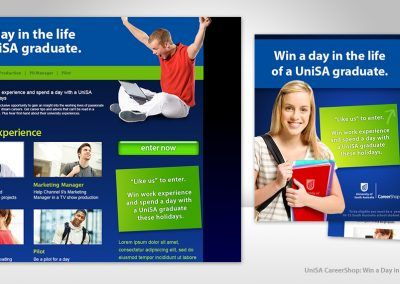 UniSA A Day in the Life Promotion